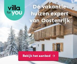 Villa for You wintersport banner